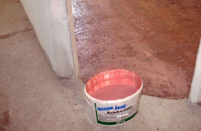Бетоноконтакт «старатели»: технические характеристики бетон-контакта объемом 20 л и 20 кг,  расход грунтовки на 1 м2 площади