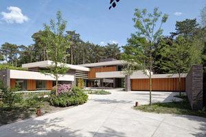 Садовые дорожки из бетона на даче: как залить с формой, сделать под камень  - 18 фото