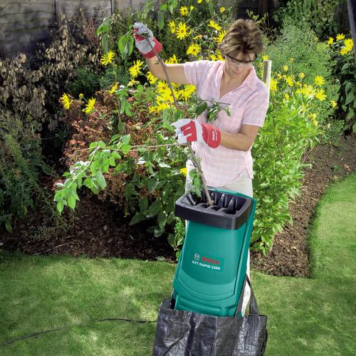 измельчитель травы и веток для дачи