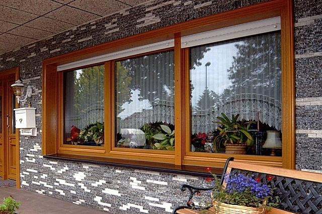 окна в частном доме фото