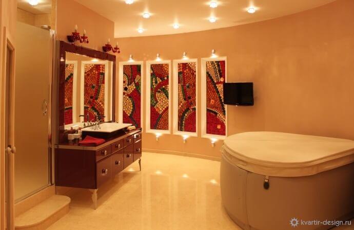 10 лучших вариантов дизайна ванной комнаты под мрамор