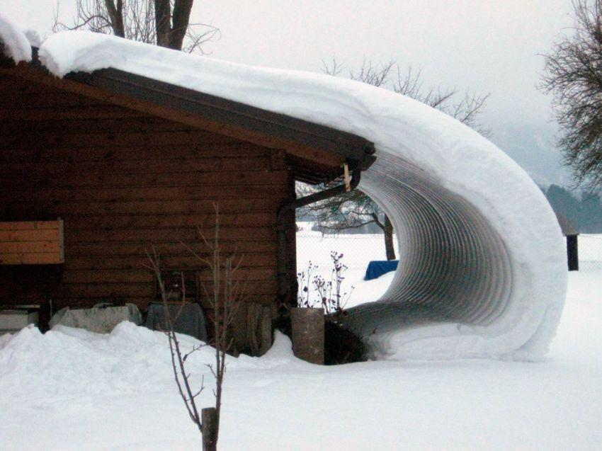 Снеговая и ветровая нагрузка на крышу: расчёт угла наклона