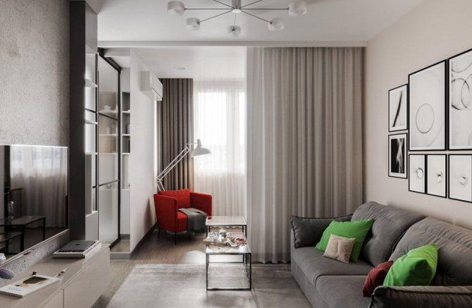 Дизайн интерьера и планировка евродвушки - «дизайн квартир»