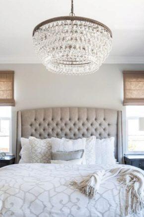 Люстра в спальню: оригинальные изделия, 60 лучших фото