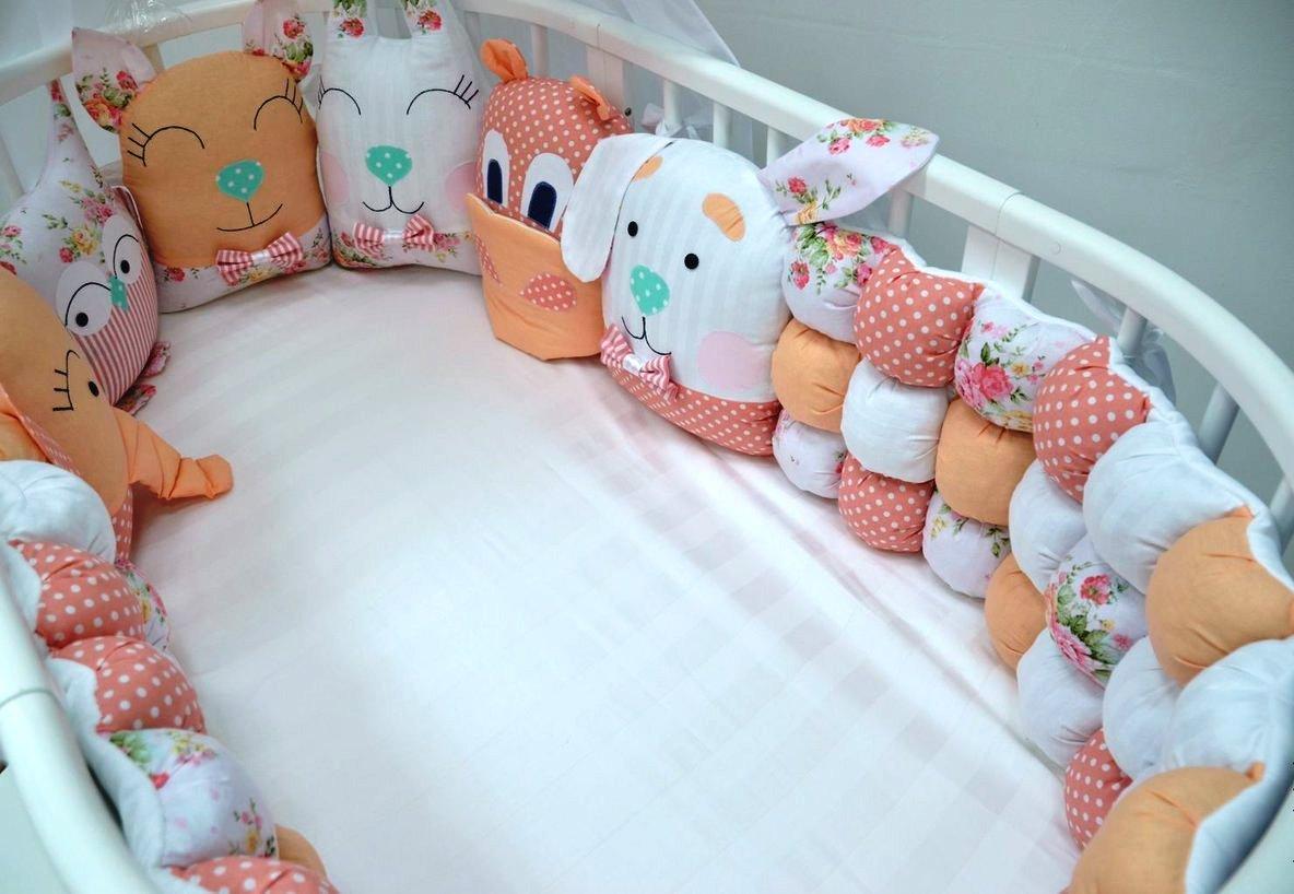 Как сшить бортики в детскую кроватку: выкройки, фото и видео мк, 9 вариантов пошива