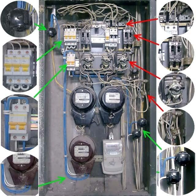 замена автоматов в электрощитке