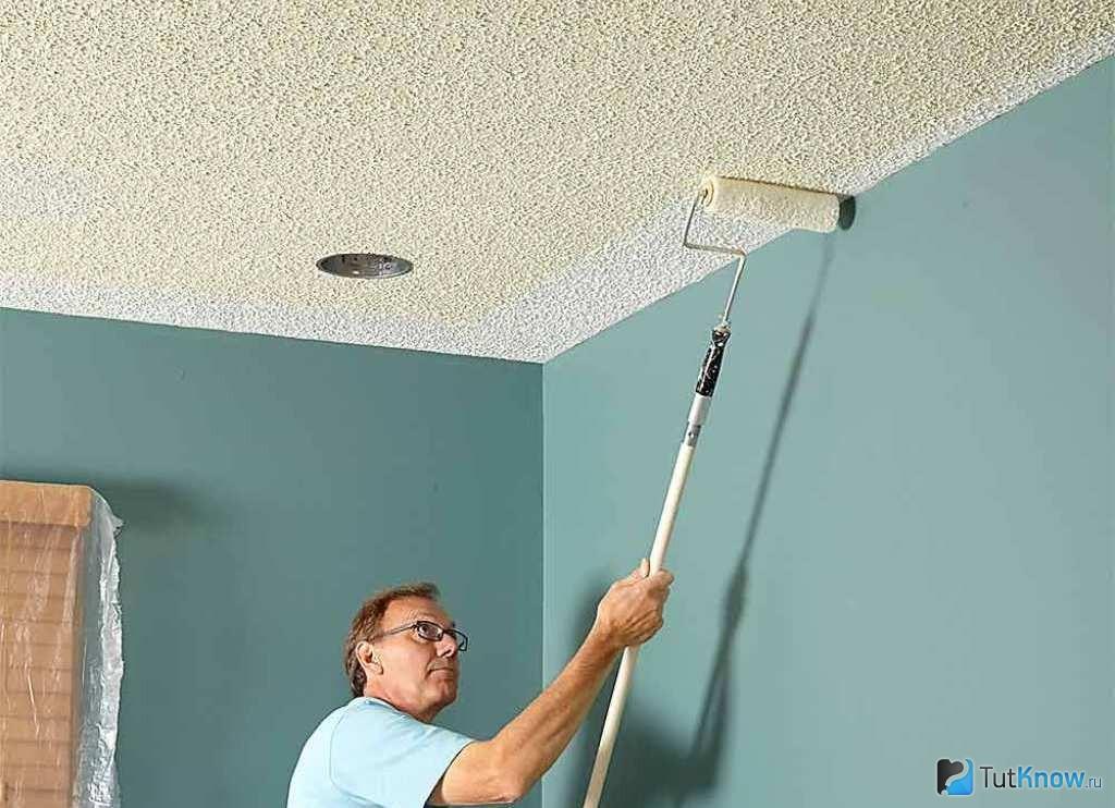 Как и каким валиком правильно красить стены?