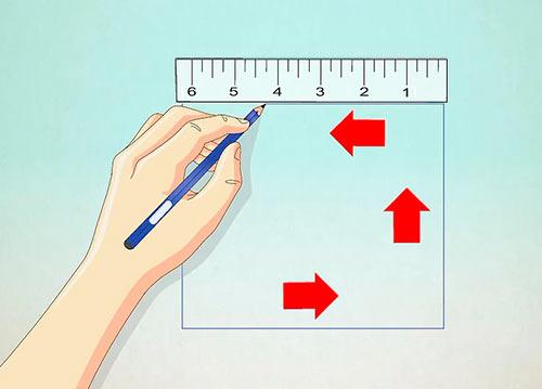 Как нарисовать домик карандашом