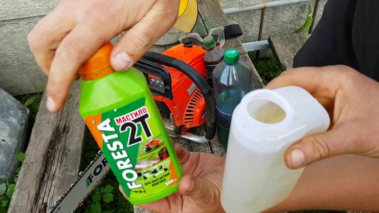 Как надо разводить бензин с маслом для триммера инструкция с описанием – мои инструменты
