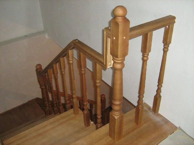 покраска лестницы из дерева своими руками