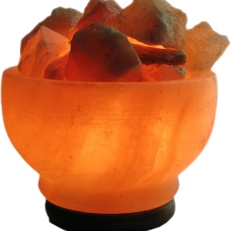 солевая лампа фото