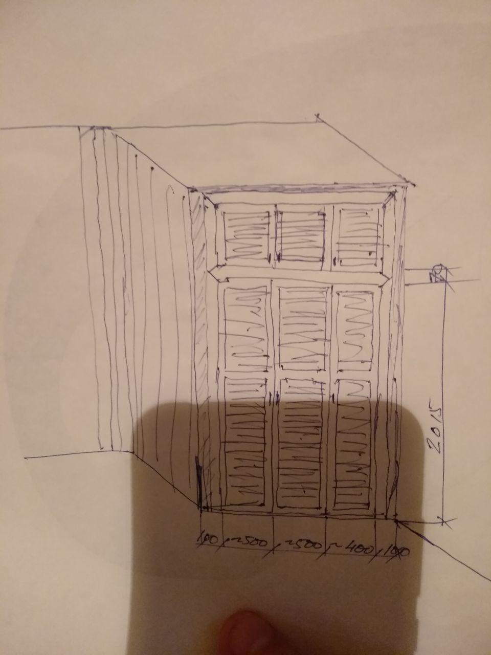 Как самому правильно собрать шкаф-купе?