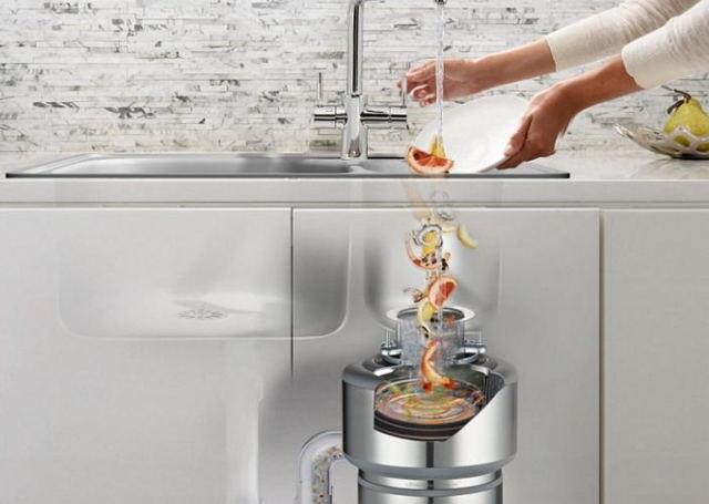 измельчитель бытовых отходов для кухни