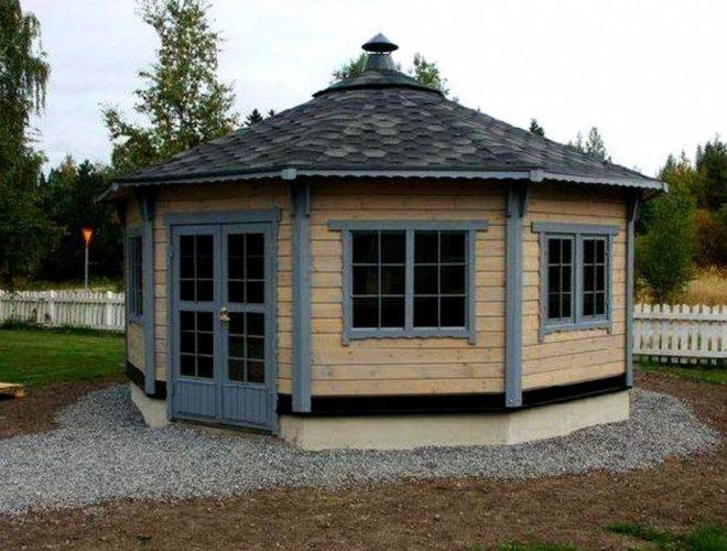 мангальный домик
