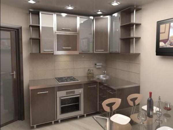 Выбираем и расставляем мебель на маленькой кухне правильно (100 фото)