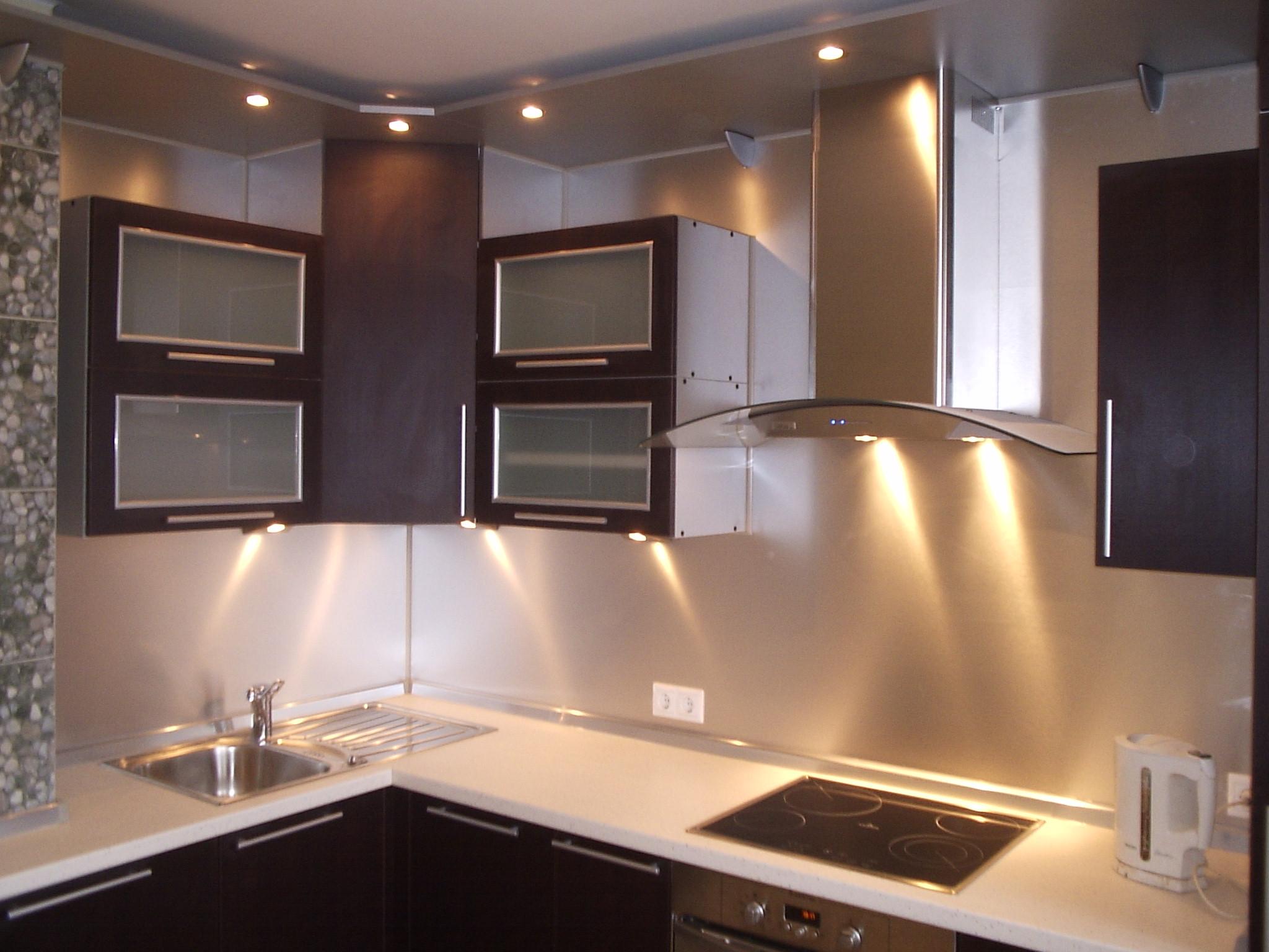 Подсветка для кухни (28 фото + цены)
