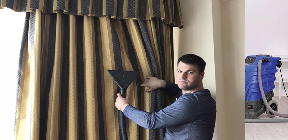 Как производится химчистка штор на дому и на фабрике + цены