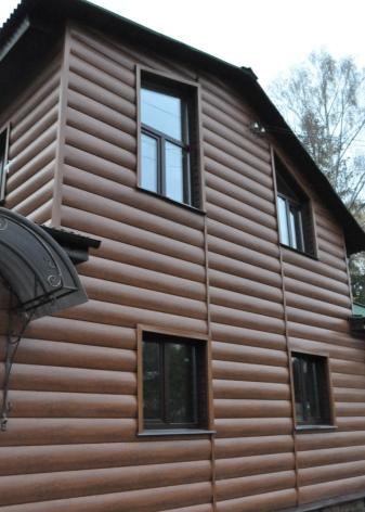 Металлический сайдинг (72 фото): «блок-хаус» под кирпич и камень для обшивки дома, алюминиевый евробрус