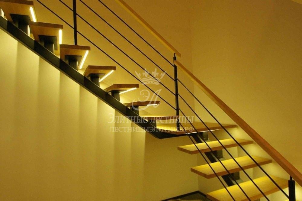 Подсветка лестницы на ступенях с датчиком движения