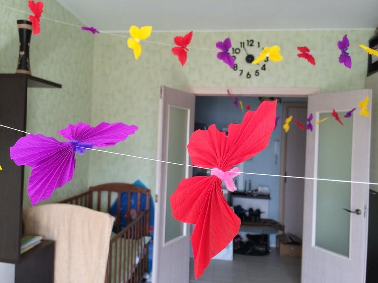 Украшения на день рождения ребенка: творим сказку своими руками