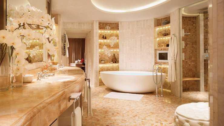 Зеленая ванная - стильные и современные решения для ярких и красивых ванных комнат (130 фото)