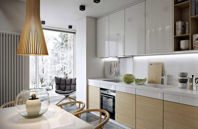 Кухня 14 кв м: дизайн интерьера и варианты планировки