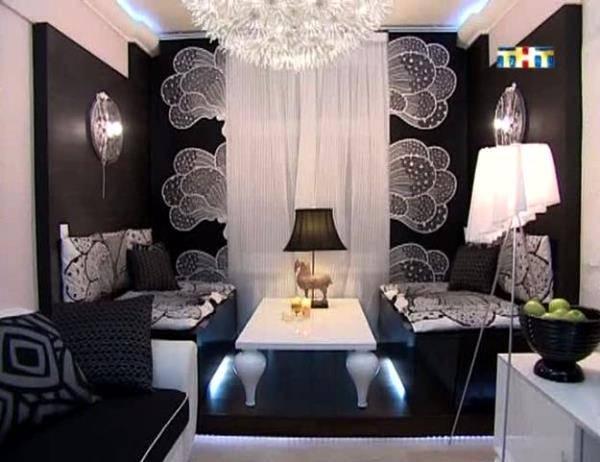 дизайн черной комнаты