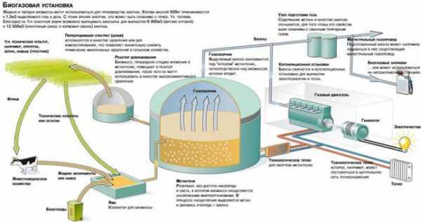 установка для производства биогаза