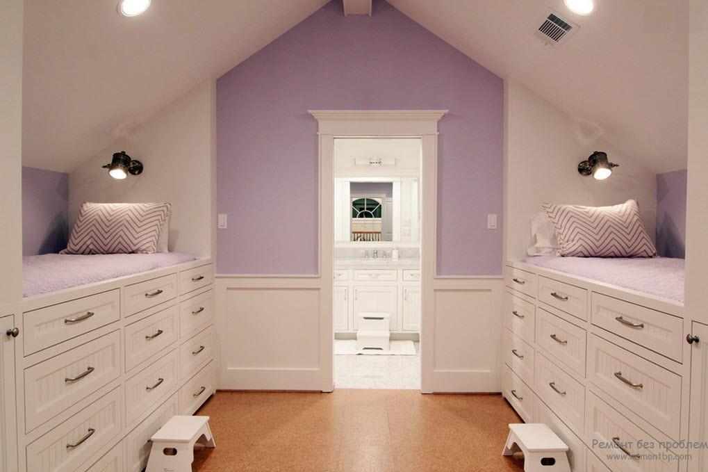 Сиреневый цвет в интерьере   правила сочетания сиреневого в дизайне квартиры