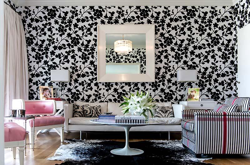 Черно серый дизайн гостиной (41 фото)