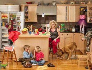 хранение кухонных принадлежностей