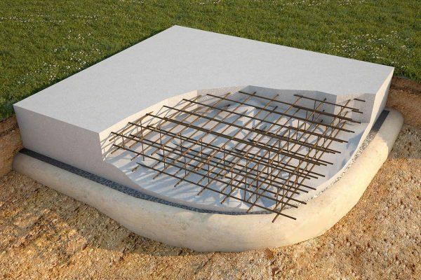 Создание ленточного фундамента для дома из газобетонных блоков