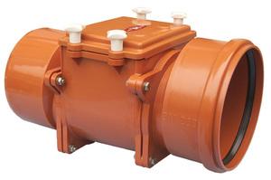 Обратный клапан на канализацию: запорный клапан на канализационную трубу, размеры клапана для напорной канализации, принцип работы, выбор, монтаж