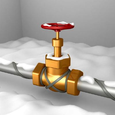 теплый провод для водопровода