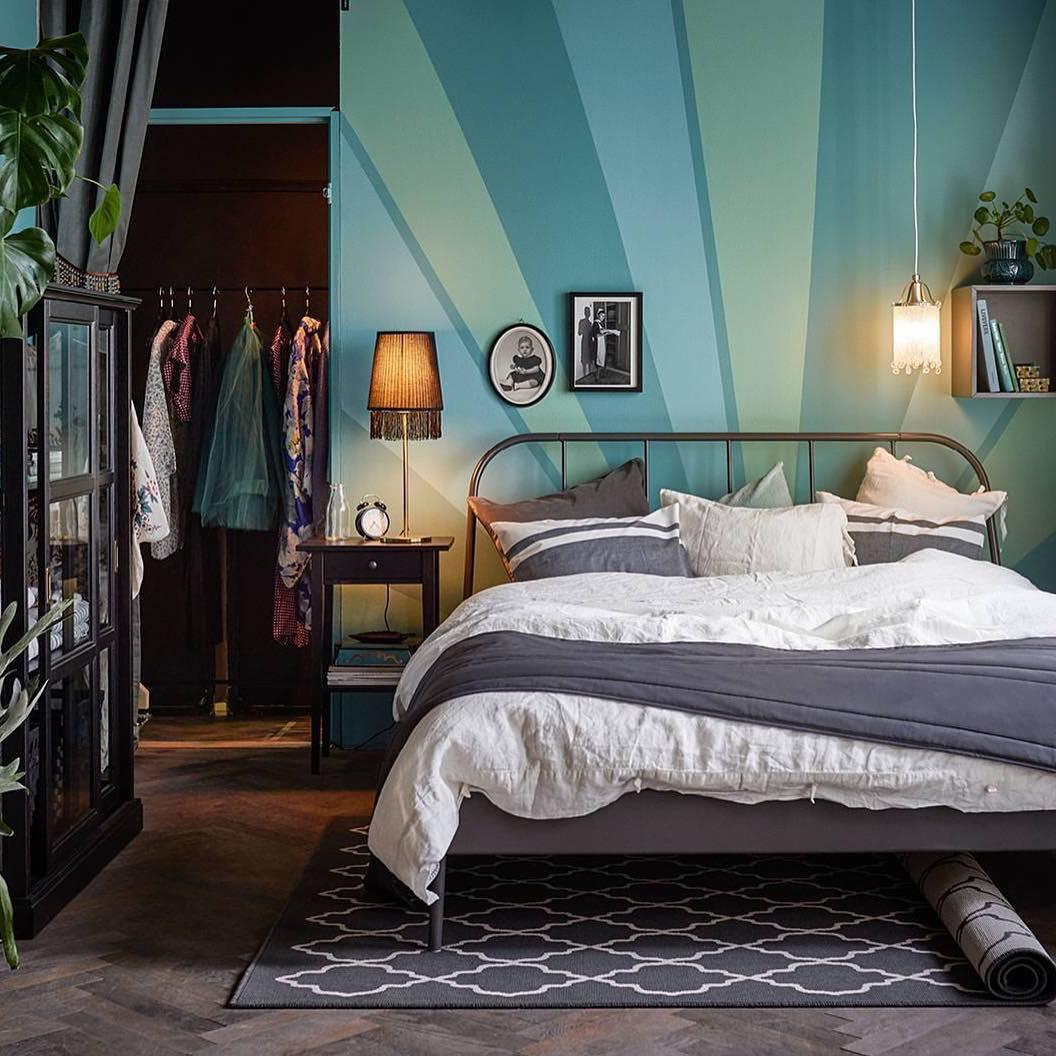 Особенности кованых кроватей ikea (16 фото): белые и черные модели с красивым изголовьем, отзывы