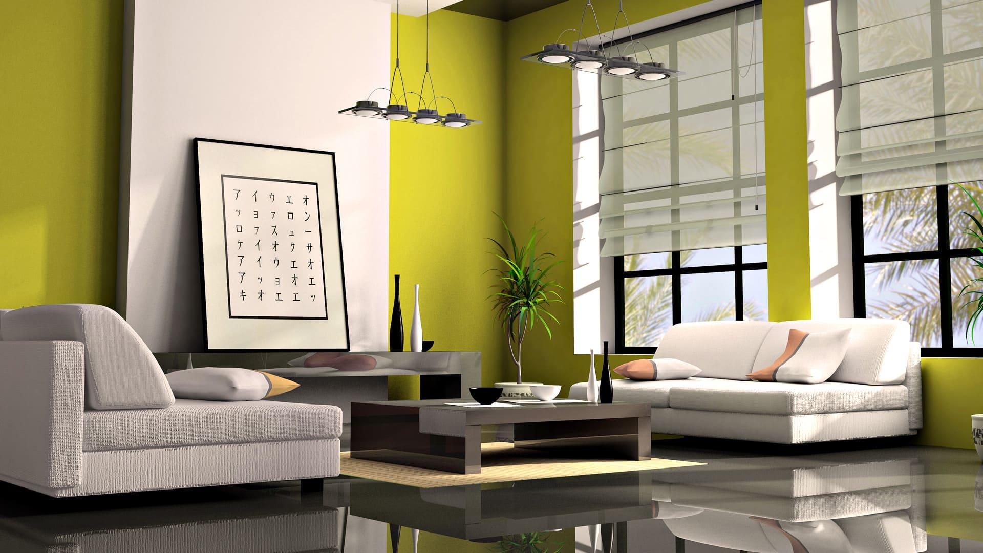 Оливковый цвет в интерьере +100 фото сочетаний