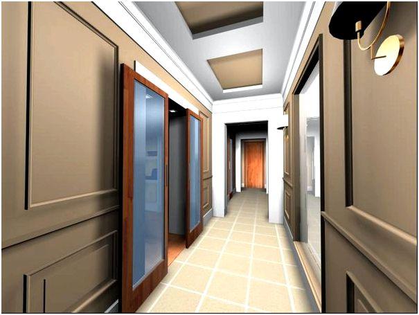 длинный коридор дизайн интерьер идеи и решения