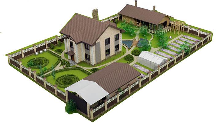 план проект дома