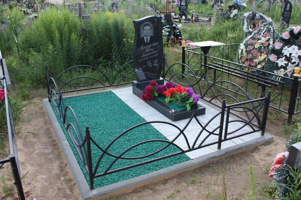 Изготовление могильной оградки на кладбище самостоятельно по чертежам