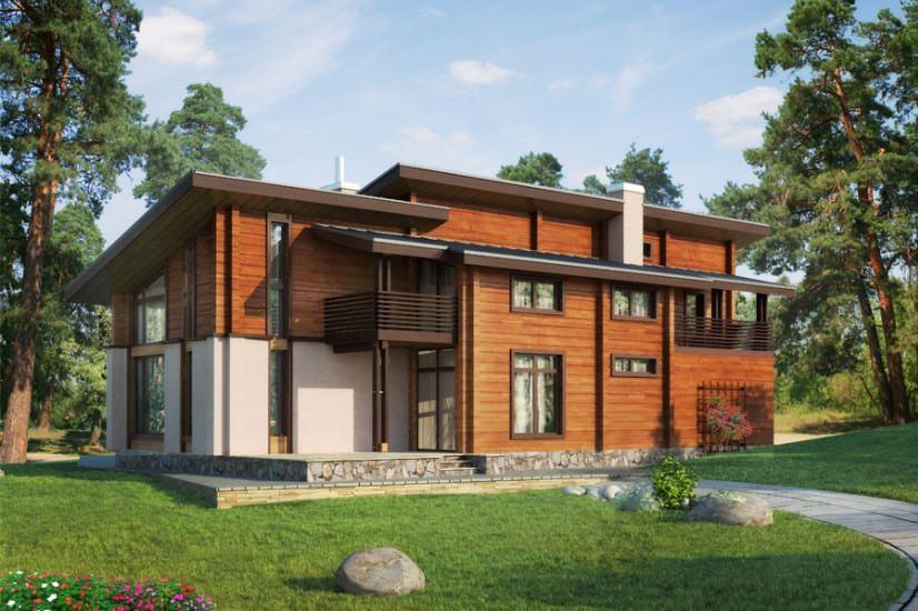 Дома из клееного бруса: проекты зданий с восхитительными планировками – советы по ремонту