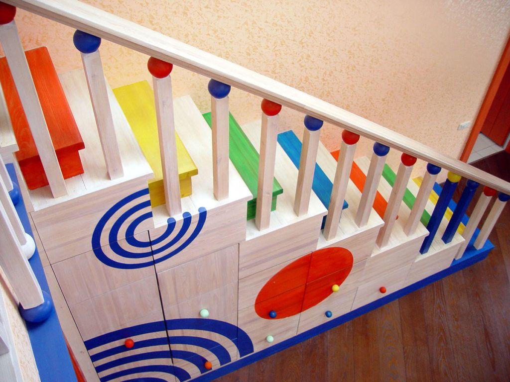 Ограждение для лестницы от детей своими руками