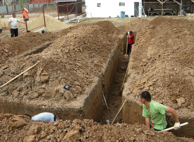 земляные работы вручную цена
