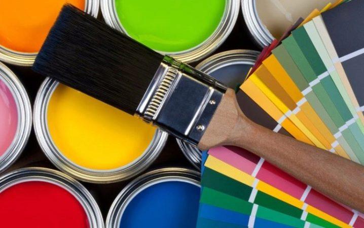 Водоэмульсионная краска для стен и потолков: особенности, как выбрать, как наносить (60 фото)