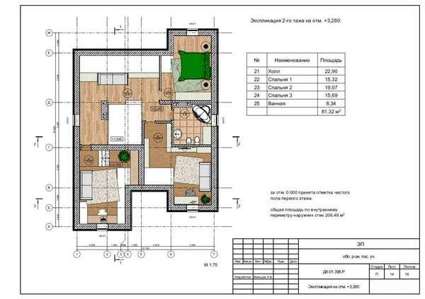 высота потолка в квартире стандарт