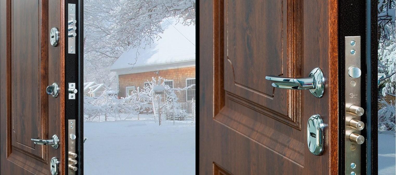 входная дверь с терморазрывом для частного