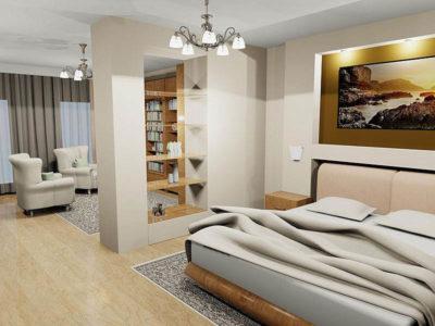 дизайн разделения комнаты