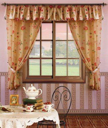 Короткие шторы на кухню: играют важную роль в дизайне интерьере, 60 фото