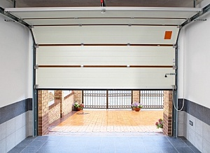гаражные ворота подъемные секционные