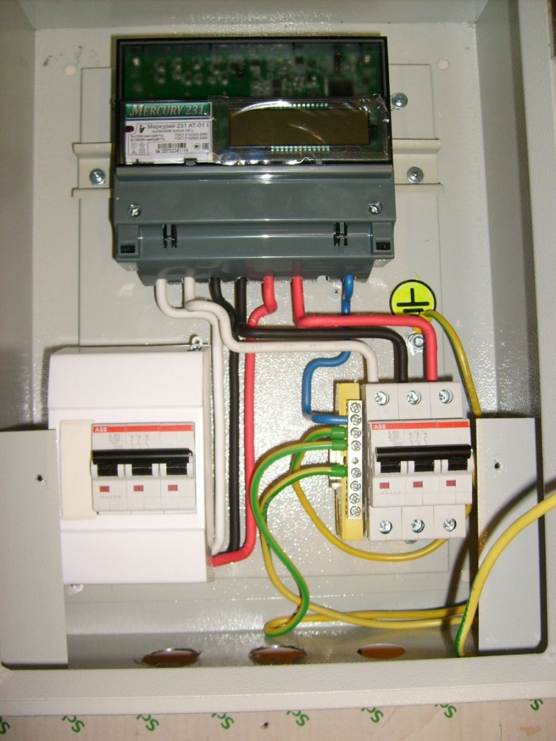 Счетчики электрической энергии трехфазные статические меркурий 231