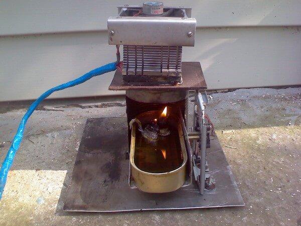 термоэлектрогенератор своими руками